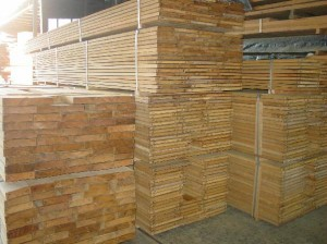 Teak Lumber Bundles